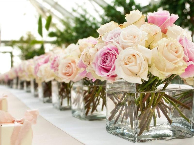 Arreglos florales para matrimonio