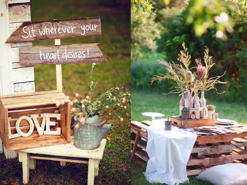 Ideas originales para decorar tu boda