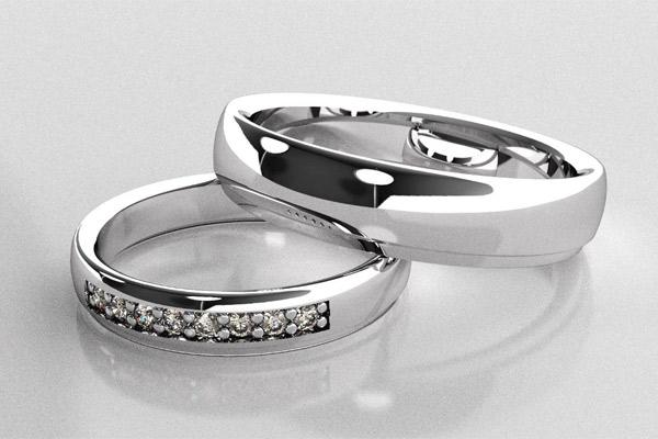 El anillo de compromiso matrimonial