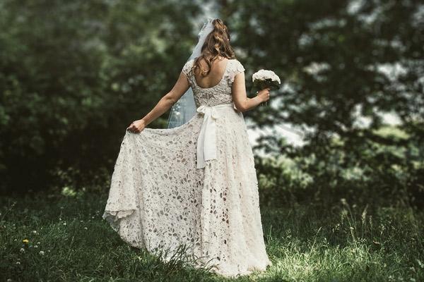 El velo de la novia en el matrimonio