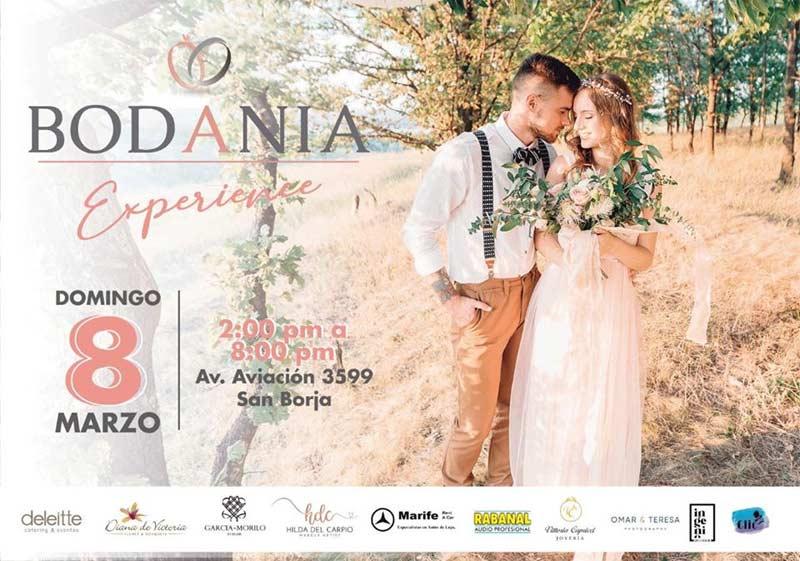 Bodania Experiencia: Feria de Novios en San Borja