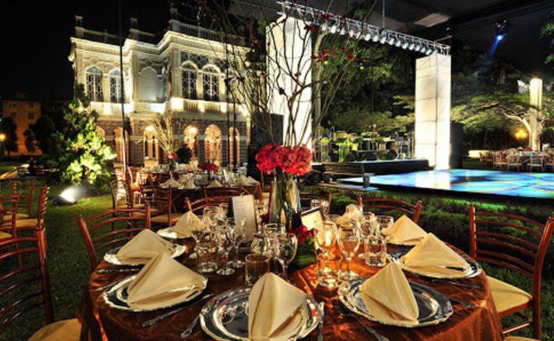 Alquilar una casa para la recepción de tu boda