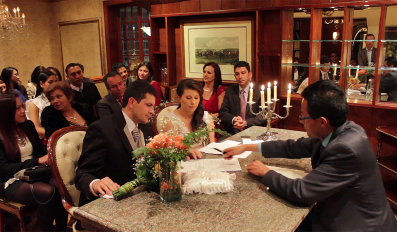 Matrimonio Civil en un Restaurante
